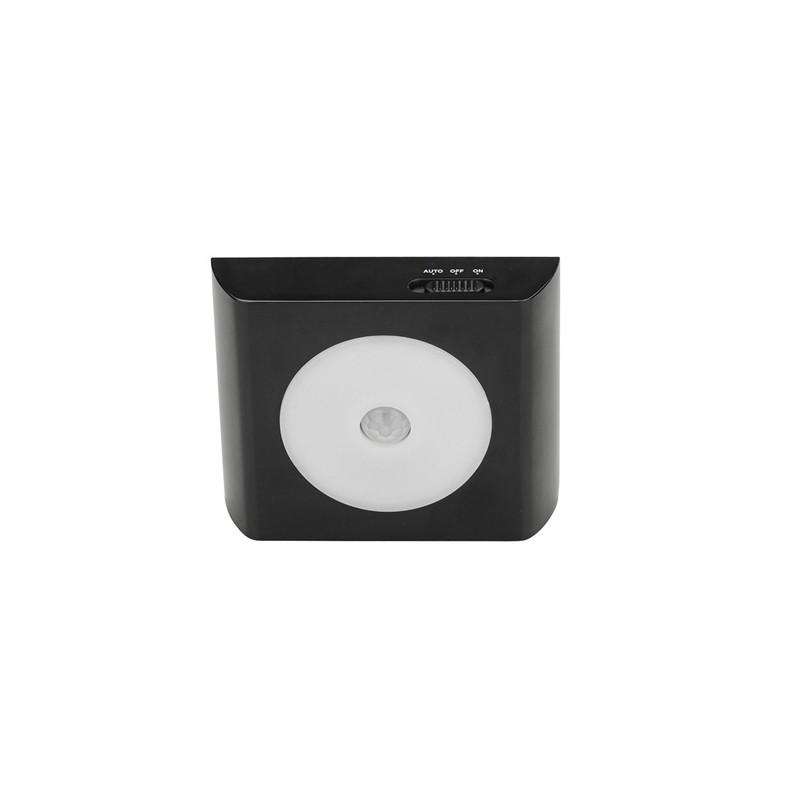 Sensor de movimiento led negro cristalrecord iluminaci n led - Sensores de movimiento para iluminacion ...