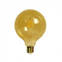 Bombilla Filamento LED Globo E27 6,4W Caramelo