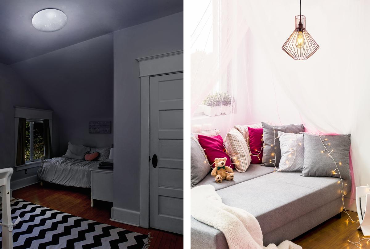 C mo iluminar un dormitorio - Luz para dormitorio ...