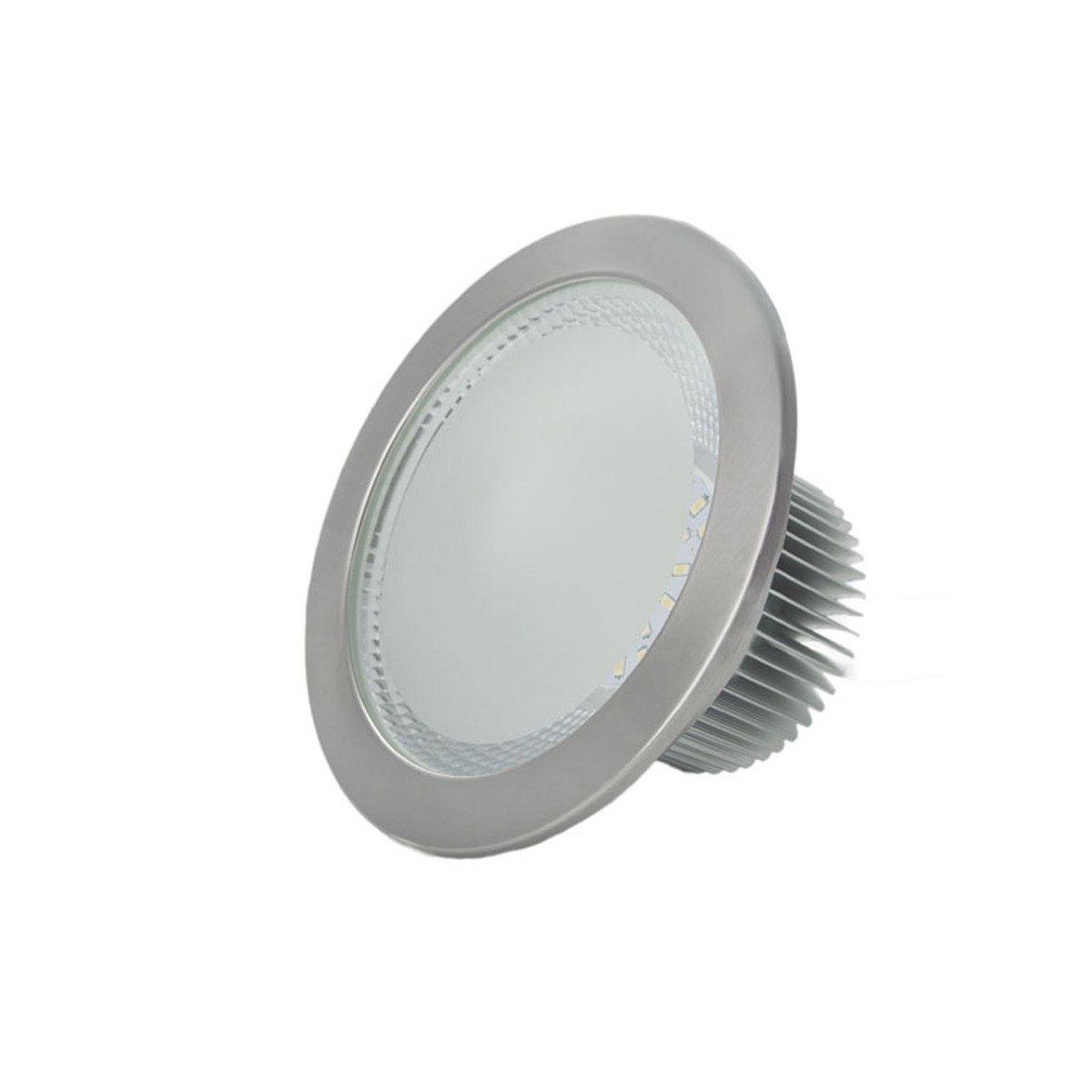 Downlight LED Chip Smd Epistar 18W Niquel 3000K