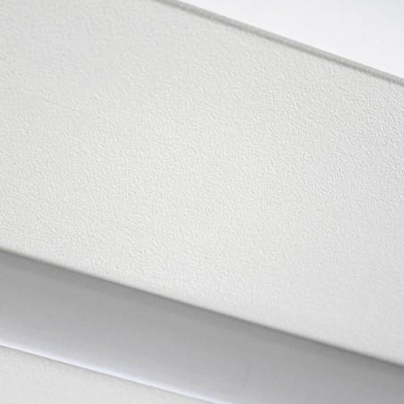 Detalle acabado Plafón LED Wanda 72W 3000K Blanco Mate