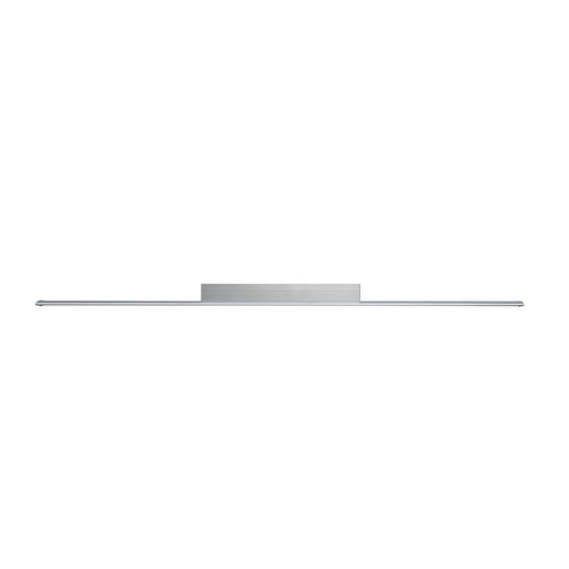 Plafón LED Wanda 72W 3000K Gris visto de perfil