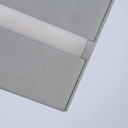 Detalle PLAFON LED 20W GRIS WANDA