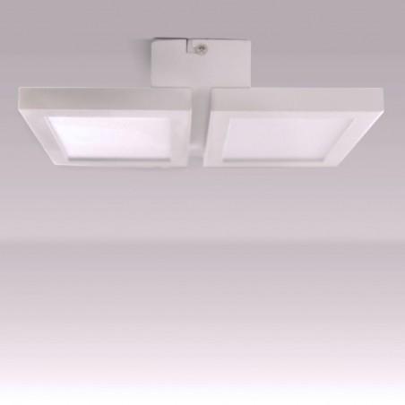 Plafón LED Or 2x18W visto de perfil