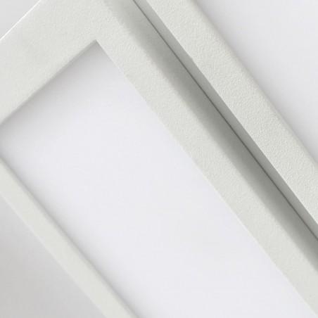 Detalle difusor Plafón LED Or 2x18W