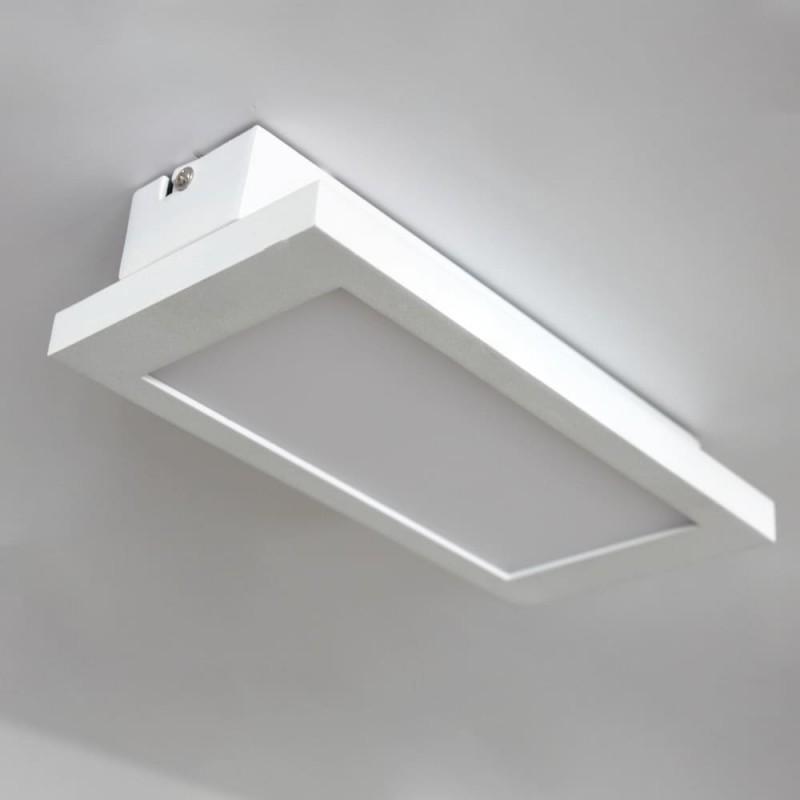Plafón LED Or 18W instalado sobre techo blanco