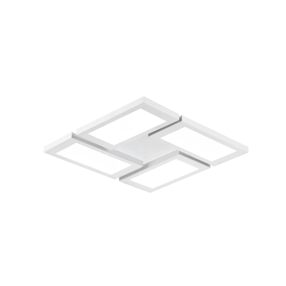 Plafón LED Or Blanco 4 Luces 72W