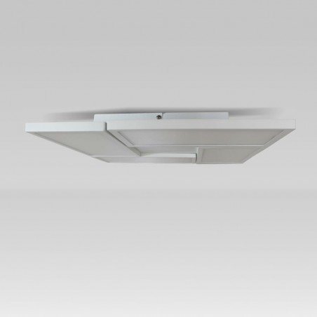 Plafón LED Or Blanco 4 Luces 72W visto de perfil