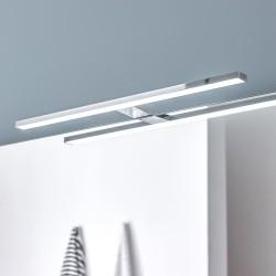 Aplique de baño LED 11W 5700K Álava instalado en baño con espejo