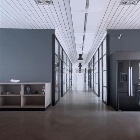 Oficinas coworking con HELIUM QR111 ALUMINIO (2 LUCES) instalados