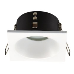 Alhambra Fixed Recessed Light Square White IP65