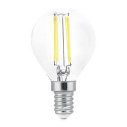 Bombilla LED G45 filamento E14 6W 6000K
