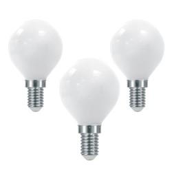 Pack of 3 Milky LED Bulbs...
