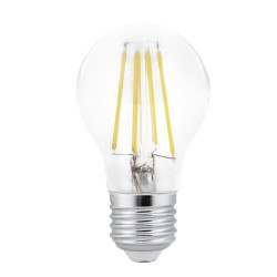 Bombilla LED A60 filamento E27 10W 6000K