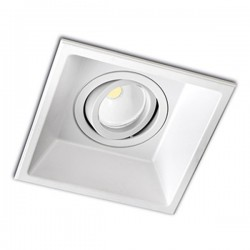 Modular Recessed Light – White