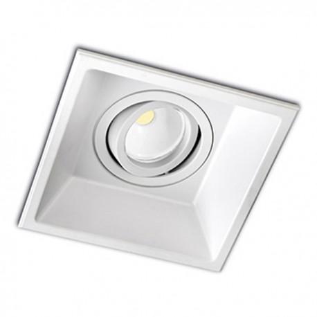 Recessed Spotlight Modular Square White