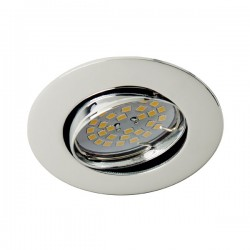 Zar Recessed Light Chrome