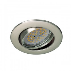 Zar Recessed Light Nickel