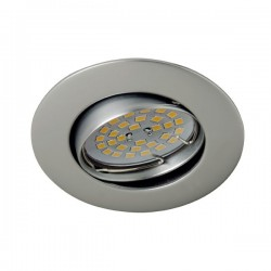 Zar Recessed Light Steel