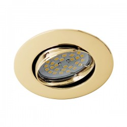 Zar Recessed Light – Polished Gold