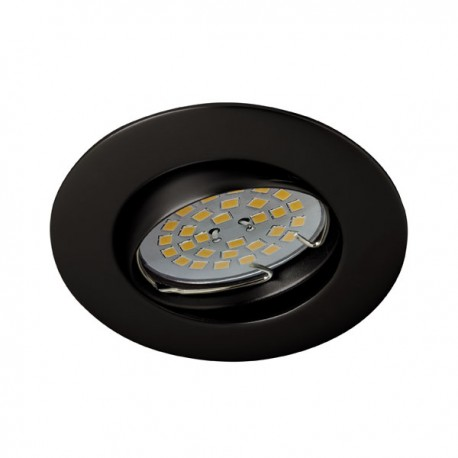 Zar Recessed Light – Black