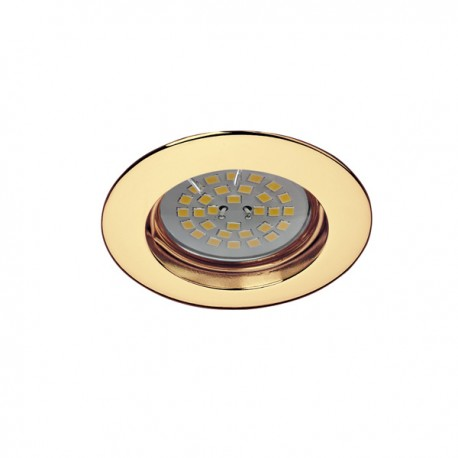Zar Fixed Recessed Light – Polished Gold