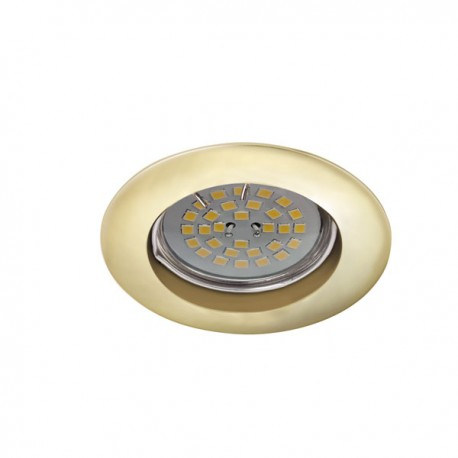 Zar Fixed Recessed Light – Satin Gold