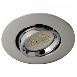Terra Recessed Light Chrome