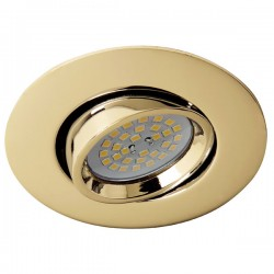 Terra Recessed Light – Gold
