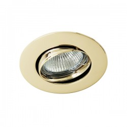 Zar Recessed Light 35mm. – Polished Gold