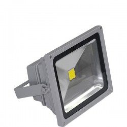 Projecteur Led 10W 6000K gris