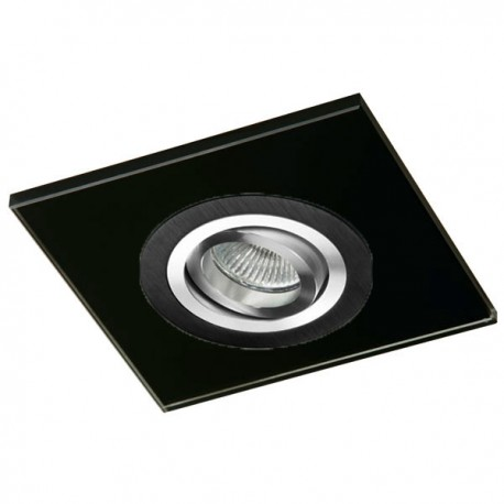Class Black Recessed Light – Black Glass
