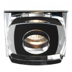 Avalio Recessed Light Glass Black