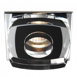 Avalio Recessed Light Glass Black