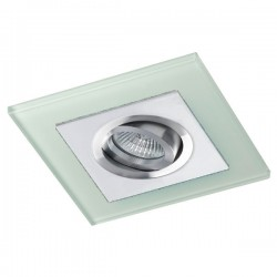 Class White Recessed Light – White Glass