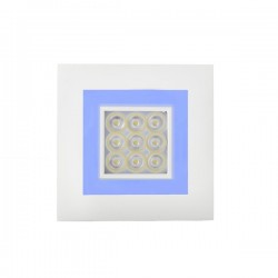 Focus Recessed LED Light – Warm/Blue