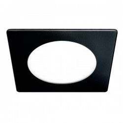 Novo Lux LED Downlight – SQ 6W – Black