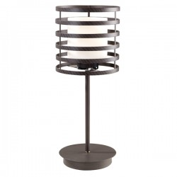 Cell Table Lamp Wenge Cylinder