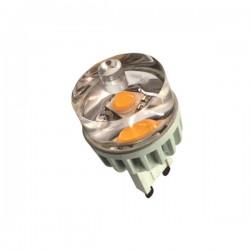 LED G9 3W (3000ºK) -CHIP...