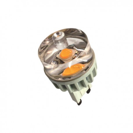 LED G9 3W (3000ºK) -chip Samsung-
