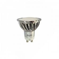 LED GU10 7W (2700ºK) -matt-