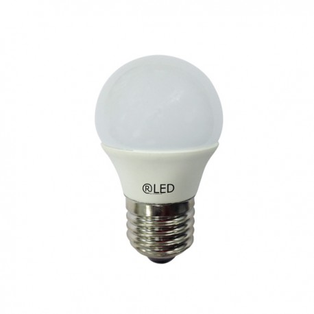 LED SPHERICAL E27 6W (4200ºK)