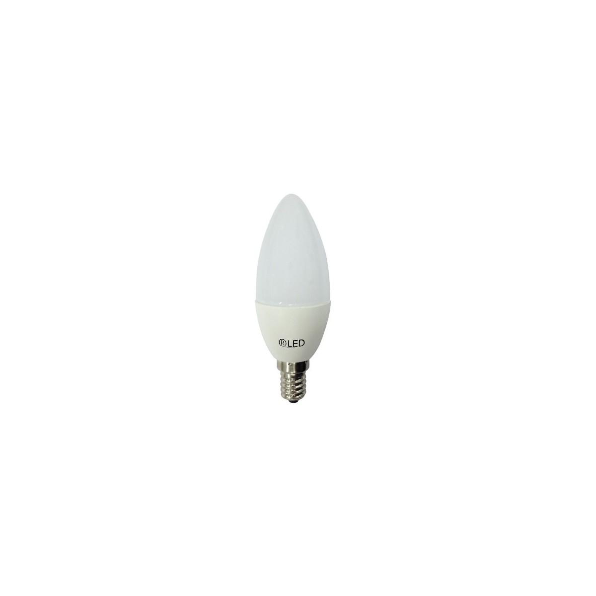 LED Bulb Candle C37 E14 6W 2700K