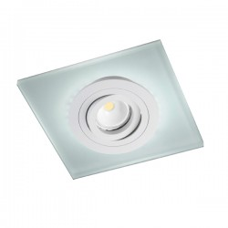 Iceberg Recessed LED Light - white - blue LED (2,4W)