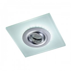 Iceberg Recessed LED Light - aluminium - cold light (2,4W)