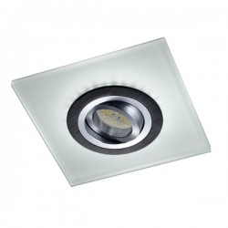 Iceberg Recessed LED Light - black - cold light (2,4W)