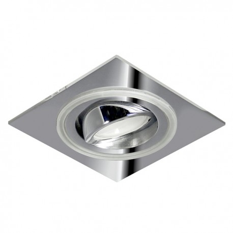 Aret Recessed LED Light - chrome - warm light (2,4W)
