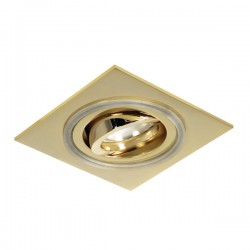 Aret Recessed LED Light - gold - warm light (2,4W)