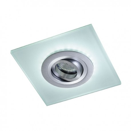 Iceberg Recessed LED Light - aluminium - warm light (2,4W)