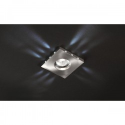 Romo Recessed LED Light – Nickel/White LED
